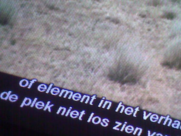 Bert Lambelin - ondertitels van de extra's van 'No Country For Old Men', Smidsestraat, Gent