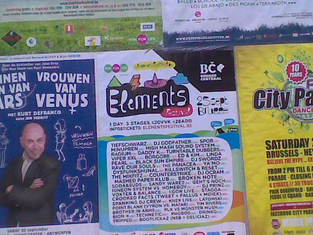 Bert Lambelin - Reclame op Gentse Feesten, Baudelopark, Gent
